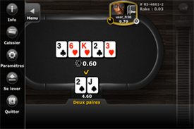 Application Mobile Bwin Poker