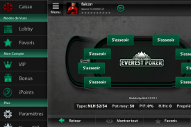 Application Mobile Everest Poker